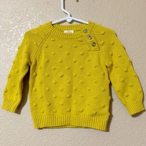 Cat & Jack knitted sweater size 6-9 months